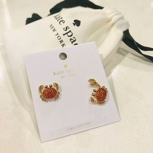 Kate Spade ♠️ Crab 🦀 Earrings